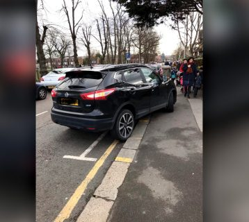 dangerously-parked-car